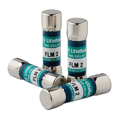 Littelfuse® POWR-GARD® FLM010 Time Delay Supplemental Fuse, 10 A, 250 VAC/125 VDC, 10 kA Interrupt, Class Midget