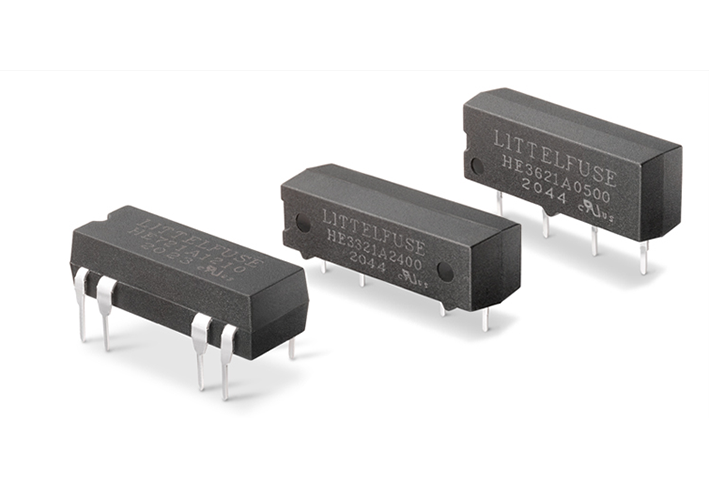 Littelfuse - Magnetic Sensors and Reed Switches - Reed Relays