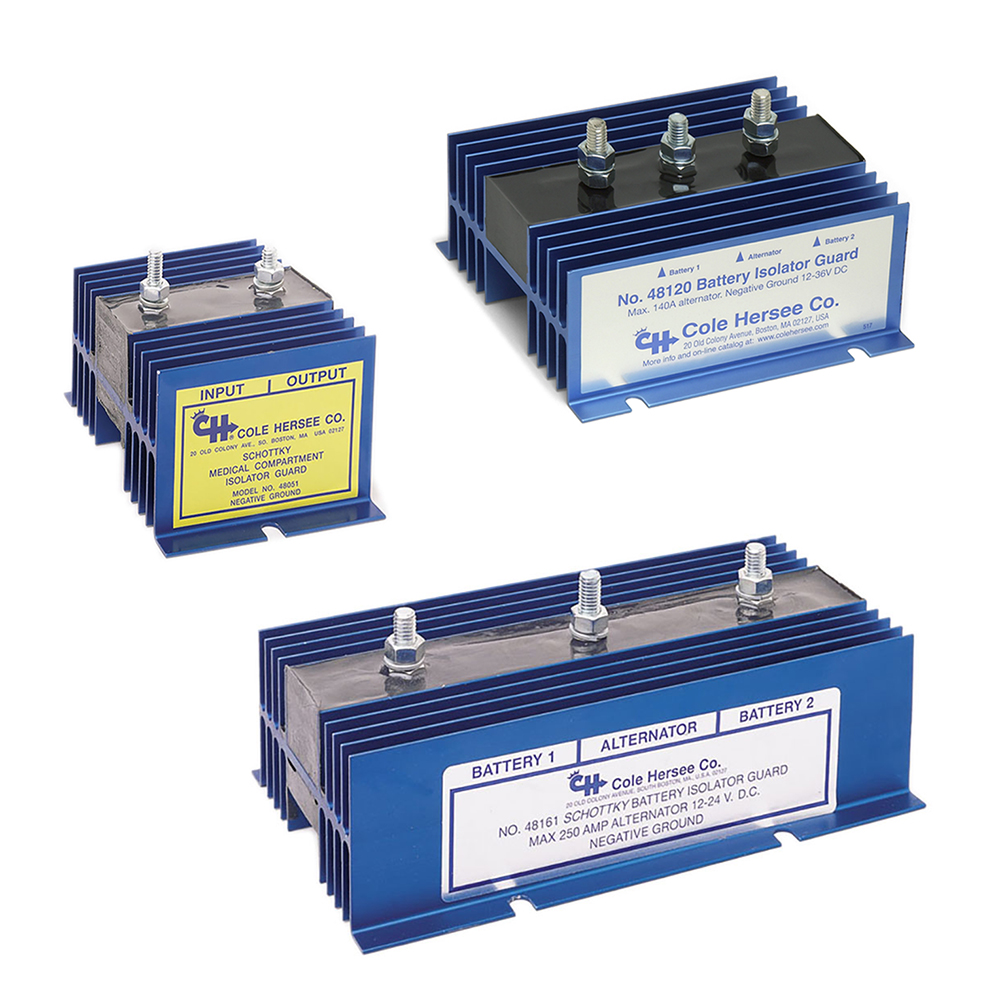 Battery Isolator 48160 Wiring Diagram Data Schema On Dual Alternator Diode Isolators Series From Rv