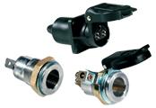 2-Pole - 3-Pole Sockets and Plugs