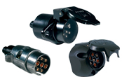 7-Pole Sockets and Plugs