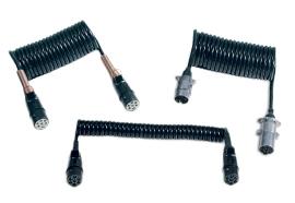 Littelfuse - DC Vehicle Connectors - 7-Pole Spiral Coils