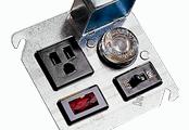 Littelfuse - Bloques de fusibles, portafusibles y accesorios para fusibles - Unidades de tapa de caja