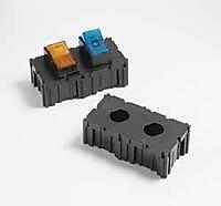 2 ポジション プッシュボタン 回路ブレーカー モジュール