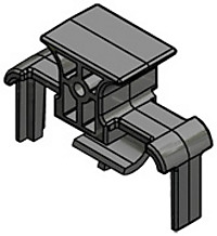 L600 ボード実装ミゼットヒューズホルダー用カバー