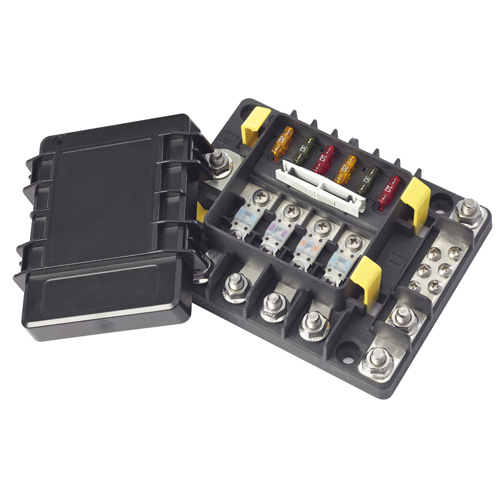 880089 lx series fuse only pdms dc power distribution modules Panel Mount Fuse Holder