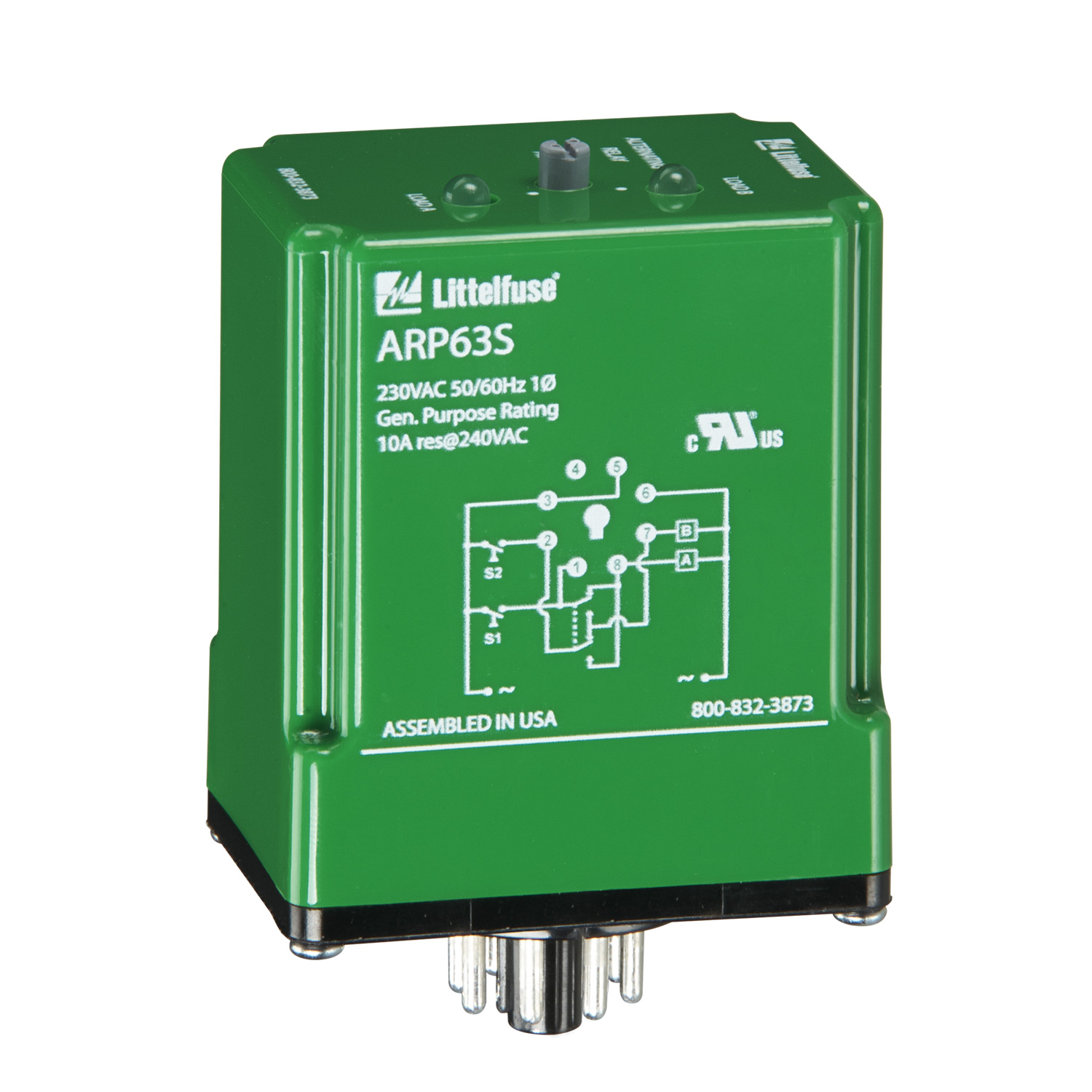 arp43s arp series alternating relays protection relays from rh littelfuse com 12 Volt Relay Wiring Diagrams 12 Volt Relay Wiring Diagrams