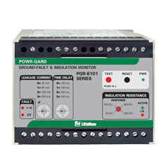 Littelfuse Protection Relays PGR-6101 Ground-Fault Insulation Monitor
