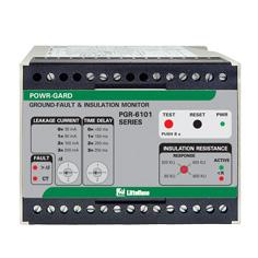 リテルヒューズ保護リレー PGR-6101 漏電 & 絶縁モニター