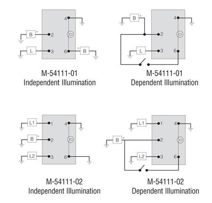 lighted rocker switch wiring diagram