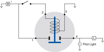 special solenoid applications - littelfuse, Wiring diagram