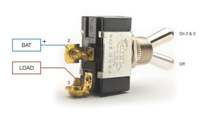 Single Toggle Switch Wiring Diagram - Wiring Diagram & Electricity ...